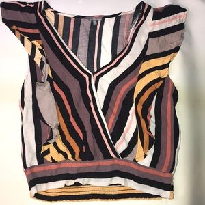 Charlotte Russe Woman's (S) Top - Multi Colored
